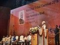 The Prime Minister, Shri Narendra Modi delivering the inaugural address of the National Tribal Carnival-2016, in New Delhi.jpg