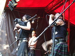 I The Real McKenzies nel 2006 ad Alkmaar.