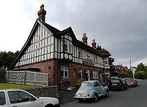 Willingdon and Jevington - Red Lion pub, Upper Willingdon village