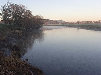 Cambuskenneth - The River Forth by Cambuskenneth