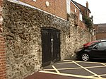 The Roman Town Wall, Queen Street to Scheregate 2.JPG
