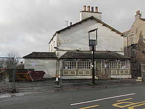 Silverdale, Lancashire - The Royal Hotel pictured in January 2014