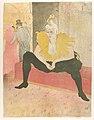 The Seated Clowness (Mademoiselle Cha-u-ka-o) (from the series Elles) MET DP835775.jpg
