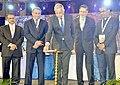 The Secretary, Ministry of Steel, Shri Binoy Kumar lighting the lamp to inaugurate the 56th National Metallurgists' Day, in Kolkata on November 14, 2018.JPG