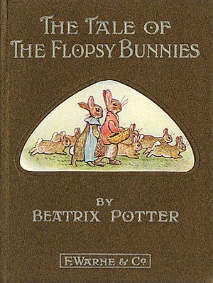 The Tale of the Flopsy Bunnies - First edition cover