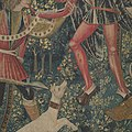 The Unicorn Defends Itself (from the Unicorn Tapestries) MET DP101153.jpg
