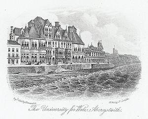 Aberystwyth University - The University for Wales, Aberystwyth, c.1870