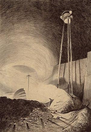 The War of the Worlds by Henrique Alvim Corrêa, orginal graphic 20a