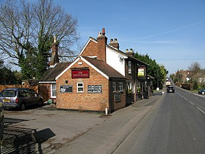 A274 road - Image: The White Horse on the A274 through Headcorn geograph.org.uk 1218497