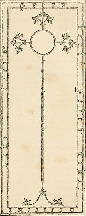 Peter Quinel - Peter Quinel's tomb slab
