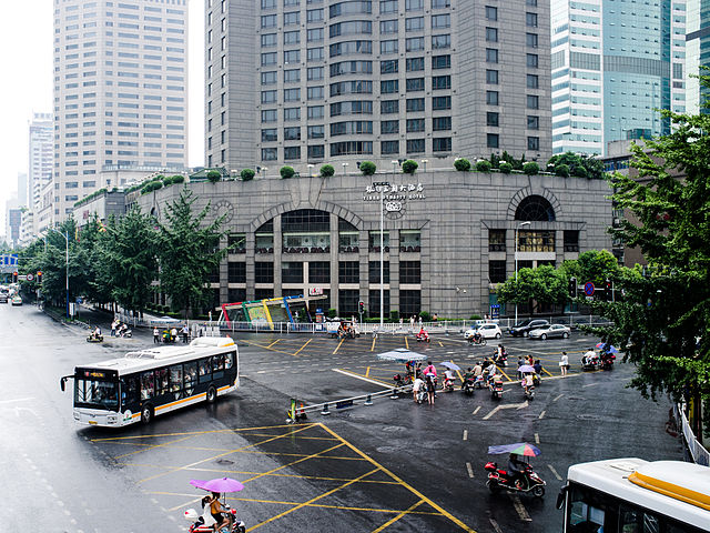 The crossing of Yinhe Dynasty Hotel-Chengdu.jpg