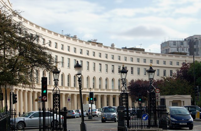 The east curve of Park Crescent, London - geograph.org.uk - 1524045