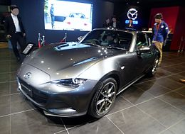 The frontview of Mazda ROADSTER RF VS (DBA-NDERC) with her roof close.jpg