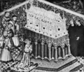 The religious life of King Henry VI - Henry VI at the Shrine of St. Edmund.png