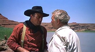 Ward Bond - With John Wayne in The Searchers (1956)