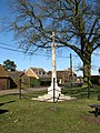The war memorial in Wormegay - geograph.org.uk - 1742329.jpg