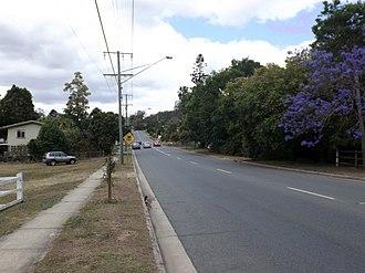 Blackstone, Queensland - Thomas Street, 2015