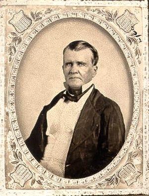 McKinney Falls State Park - Thomas Freeman McKinney, the park's namesake.