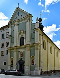 Thomas the Apostle Church, 12 Szpitalna str, Old Town, Krakow, Poland.jpg
