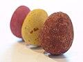 Three Cadbury Mini Eggs at an angle.jpg
