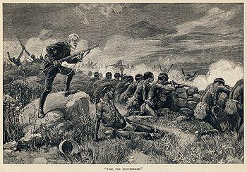 Thure de Thulstrup - H. Rider Haggard - Maiwa's Revenge - Fire, you scoundrels