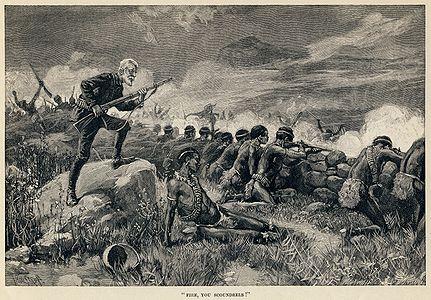 Thure de Thulstrup - H. Rider Haggard - Maiwa's Revenge - Fire, you scoundrels.jpg