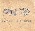 Ticket-1959-Italie-Pisa-Caffe Duomo.jpg