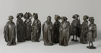 Pleurants - Pleurants of Isabella of Bourbon, now in the collection of the Rijksmuseum.