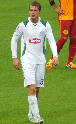 Tomáš Borek - Borek playing for Konyaspor in 2013