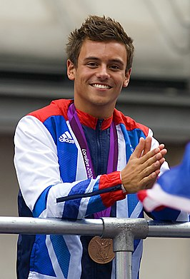 Tom Daley in 2012