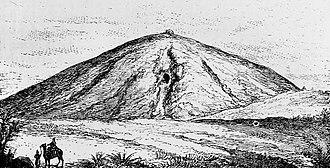 Alyattes of Lydia - Tomb of Alyattes, 19th century.