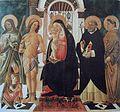 Tommaso di Piero del Trombetto La Conversation Sacree 1490 1500.jpg