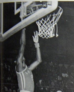 Tony Gwynn - Gwynn was a standout basketball player in both high school (pictured) and college.