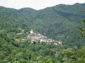 Slavia Friulana - The village of Topolò in the municipality of Grimacco, Friulian Slavia