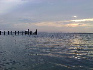 Topsail Island sound side