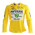 Tour de France 2006 yellow jersey (Floyd Landis).jpg