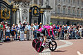 Tour de France 2007 warming up Buckingham Palace.jpg