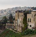 Tourists at a lookout in Jerusalem facing Silwan (20171).jpg