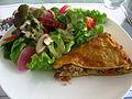 Tourte au thon et salade.JPG