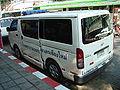 Toyota Hiace ambulance tail Chiangmai.jpg