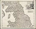 Tractus regni Angliae septentrion(alis) in quo ducatus Eboracensis, episcopatus Dunelmensis, comitatus Northumbriae, Cumbriae, Westmoriae et Lancastriae cum Mona insula (8341891871).jpg