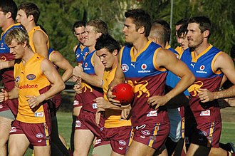 Brisbane Lions - Training, May 2007