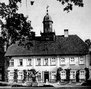 Trakehner - Landstallmeisterhaus in Trakehnen