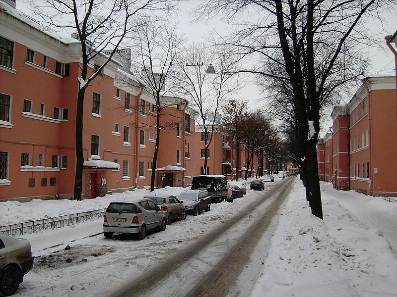 Traktornaya st in St. Petersburg.JPG