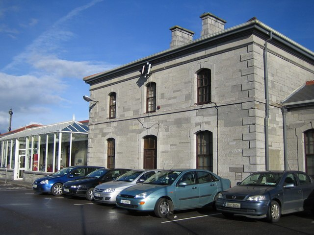 Tralee railway station - geograph.org.uk - 257003
