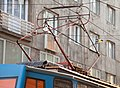 Tram in Sofia near Palace of Justice 2012 PD 028.jpg