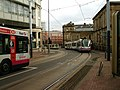 Trams in central Sheffield - geograph.org.uk - 743345.jpg