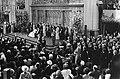 Troonswisseling 30 april , inhuldiging in Nieuwe Kerk overzicht, Bestanddeelnr 930-8070.jpg