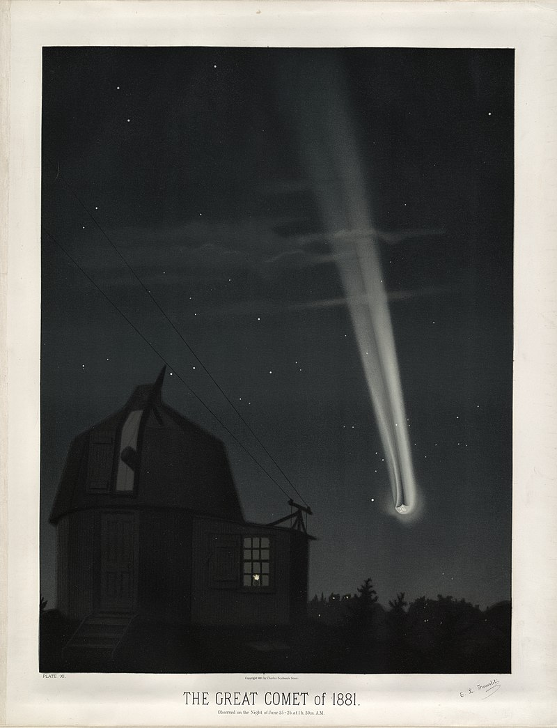 https://upload.wikimedia.org/wikipedia/commons/thumb/d/d1/Trouvelot_-_The_great_comet_of_1881_-_1881.jpg/800px-Trouvelot_-_The_great_comet_of_1881_-_1881.jpg