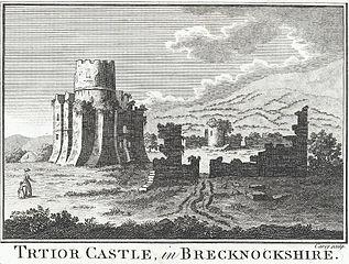 Trtior Castle, in Brecknockshire